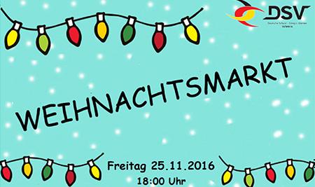 Einladung Zum Weihnachtsmarkt 2016