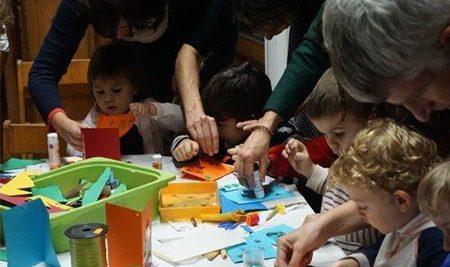 Weihnachtsfest im Kindergarten