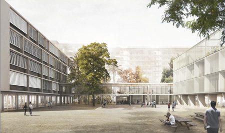 Interview mit Frau Droste über den Umbau der Schule