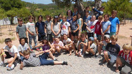 Klassenfahrt der Klasse 4a nach Olocau